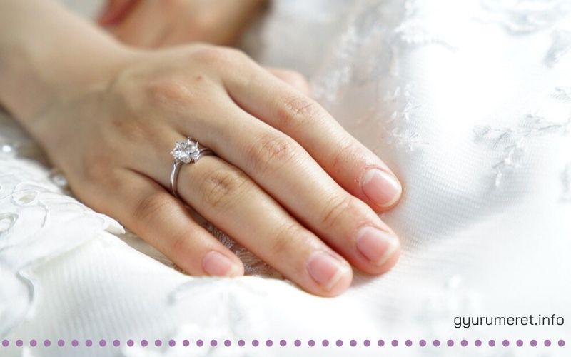 Női gyűrű méretek